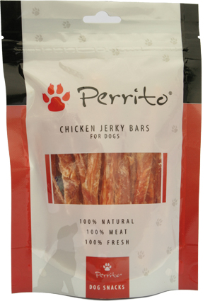Perrito Kattensnacks Chicken Jerky Bars 100 gram
