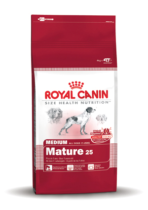 Royal Canin Hondenvoer Medium Adult 7+ - 4 kg