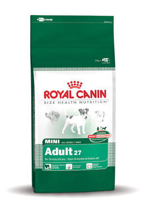 Royal Canin Hondenvoer Mini Adult 27 - 8 kg