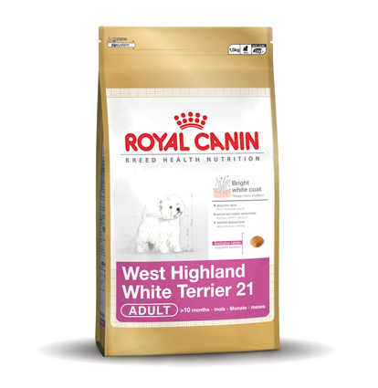 Royal Canin Hondenvoer West Highland White Terrier 21 Adult 1,5 kg