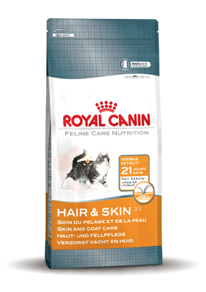 Royal Canin Kattenvoer Hair & Skin 33 - 4 kilo
