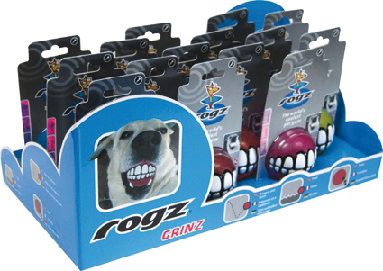 Rogz Grinz Display Assorty 15 stuks 390 x 205 x 180 mm