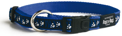 Beach Bum Halsband Paws/blue 1 stuks 20mm - 3/4