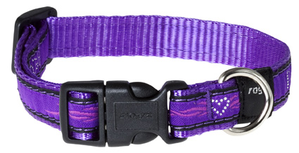 Scooter Halsband Purple Chrome 1 stuks 16mm - 5/8