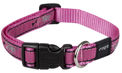 Scooter Halsband Pink Bone 1 stuks 16mm - 5/8