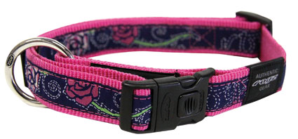 Scooter Halsband Denim Rose 1 stuks 16mm - 5/8