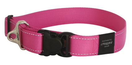 Landing strip halsband pink 1 stuks 40mm - 1 5/8
