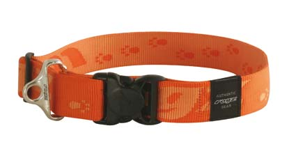 Big Foot Halsband Orange 1 stuks 40mm - 1 5/8