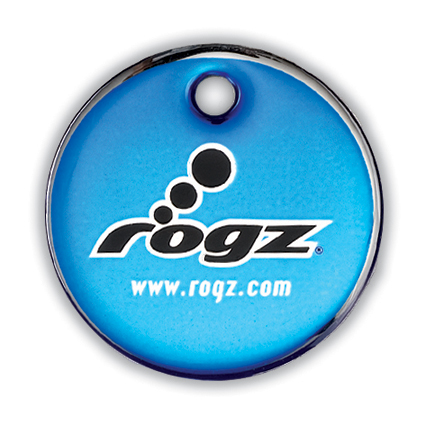 Rogz ID-tag Passport Blue Groot