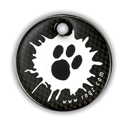 Rogz ID-tag Passport Paint Paw Groot