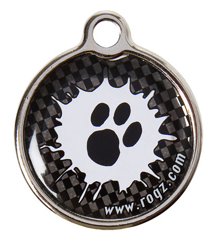 Rogz ID-tag Metal Paint Paw Groot