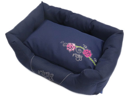 Hondenbed Spice Pod Large Denim Rose