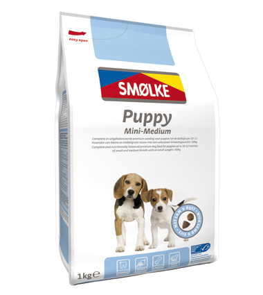 Smolke Hondenvoer Puppy Mini Medium 1 kg