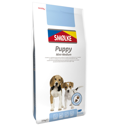 Smolke Hondenvoer Puppy Mini Medium 15 kg