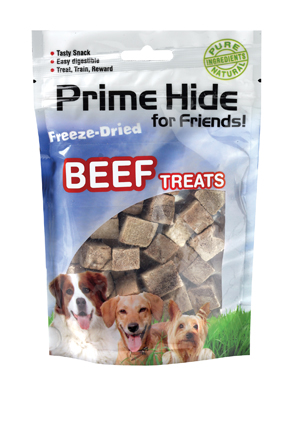 Hondenkluiven Prime Hide Freeze Dried Dog Beef 50 gram