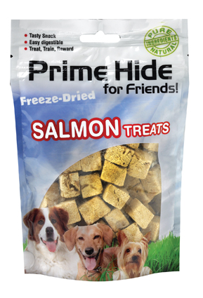 Hondenkluiven Prime Hide Freeze Dried Dog Salmon 50 gram