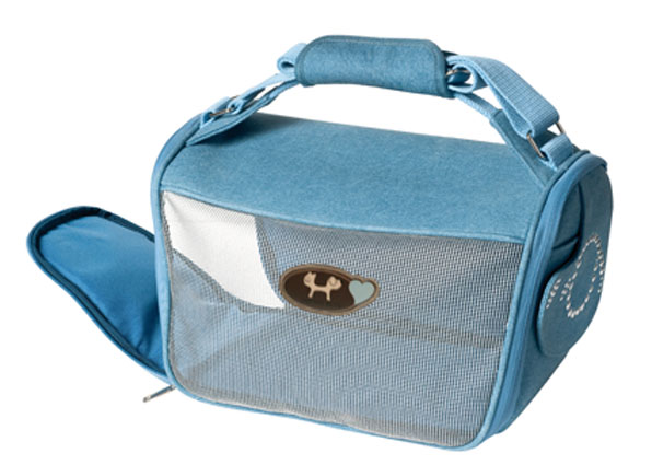 United Pets Hondentas Mini Doggybag Denim 36 x 21 x 19 cm
