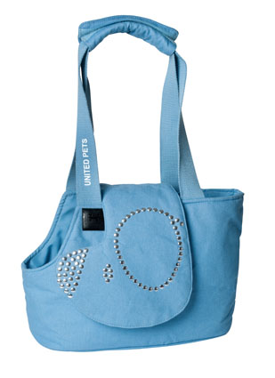United Pets Hondentas Soft bag Denim Klein 33 x 17 x 24 cm
