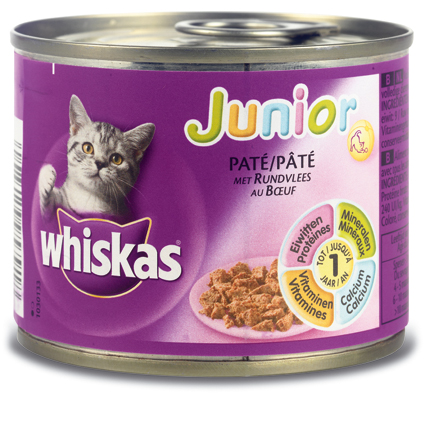 Whiskas Kitten Rund 195gr.