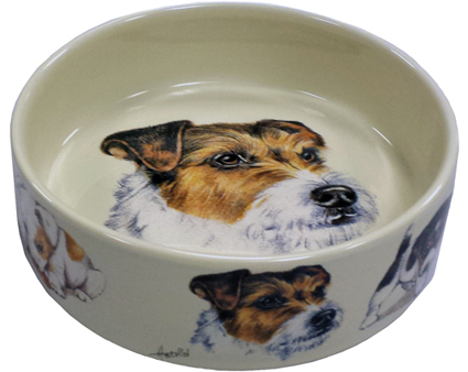 Animal Prints Hondenvoerbak Jack Russel Terrier 16 cm